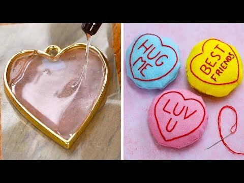 11 Romantic DIY Valentines Day Crafts