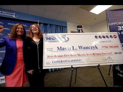 Что за счастливчик из США выиграл рекордную сумму в лотерее