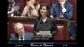 Migranti, Boldrini contestata in aula. Fico: basta sbraitare