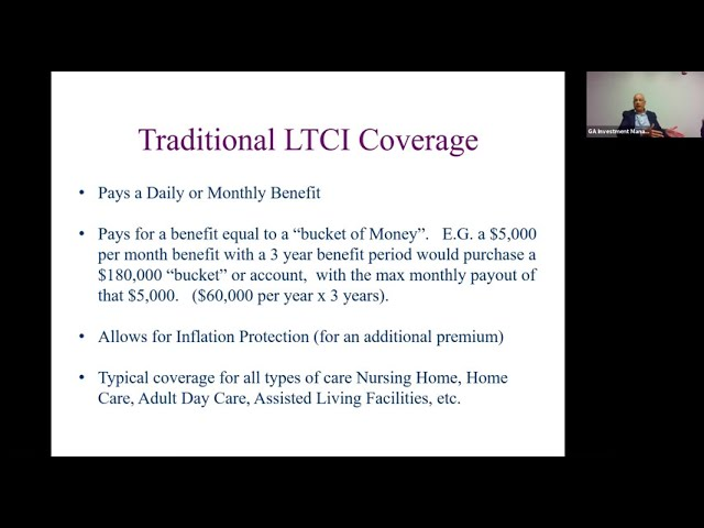 Long Term Care: Considerations, Contemplations and Funding Solutions
