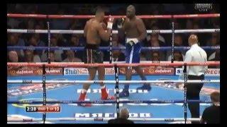 Anthony Joshua Vs Kevin Johnson Full Fight 30/05/2015