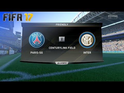 FIFA 17 Demo - Paris Saint Germain Vs. Internazionale @ CenturyLink Field