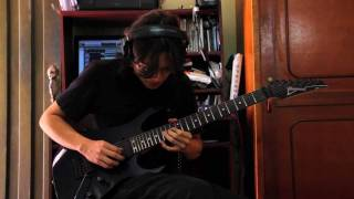 TOTO - While My Guitar Gently Weeps - Guitar Solos By Daniel Molina