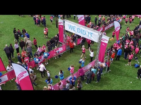 🔴 Race for Life 2015 Cancer Research UK  DJI Inspire 1