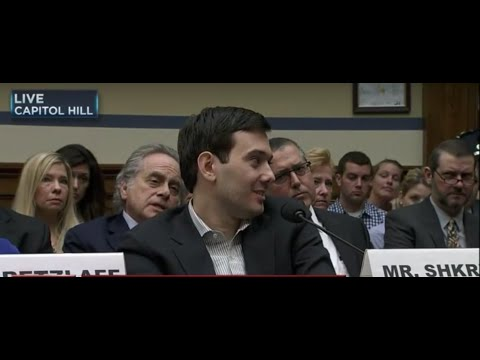 Rude Pharma CEO Martin Shkreli Makes Mockery of US Congressional Committee