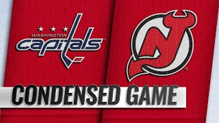 03/19/19 Condensed Game: Capitals @ Devils