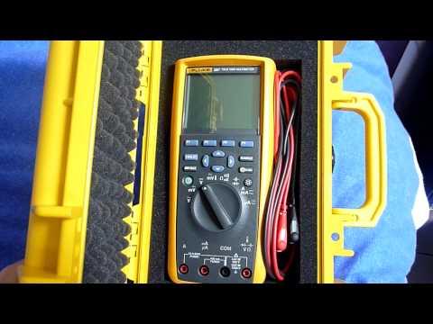 Mini Solar Powered USB Charger - Part 3 / Fluke 287 Review