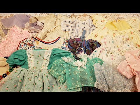 Vintage Doll Clothes to Use in Junk Journals