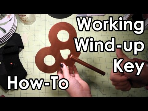 How to Make a Working Wind-up Key : DIY