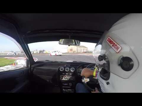 Bedford Autodrome with 370bhp Evo