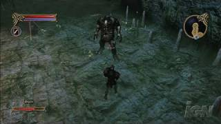 Two Worlds Xbox 360 Gameplay - Dying in a Cave (HD)