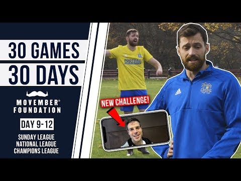 SUNDAY, NATIONAL & CHAMPIONS LEAGUE! - #30GAMES30DAYS EP3