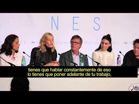 Cate Blanchet en conferencia desde el Festival de Cannes