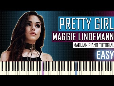 How To Play: Maggie Lindemann - Pretty Girl (Cheat Codes X CADE Remix) | Piano Tutorial EASY