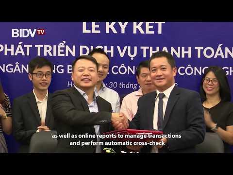 BIDV ký kết hợp tác phát triển dịch vụ thanh toán toàn diện với Công ty công nghệ Vimo