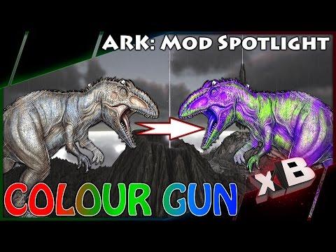 DINO PAINT GUN! :: Mod Spotlight :: ARK: Survival Evolved