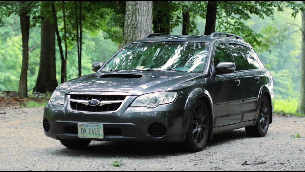 Sleeper Status Cosworth Subaru Outback Review Youtube