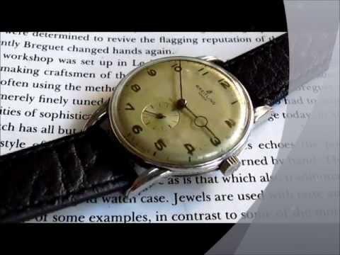 Breitling Geneve Wristwatch 1950s