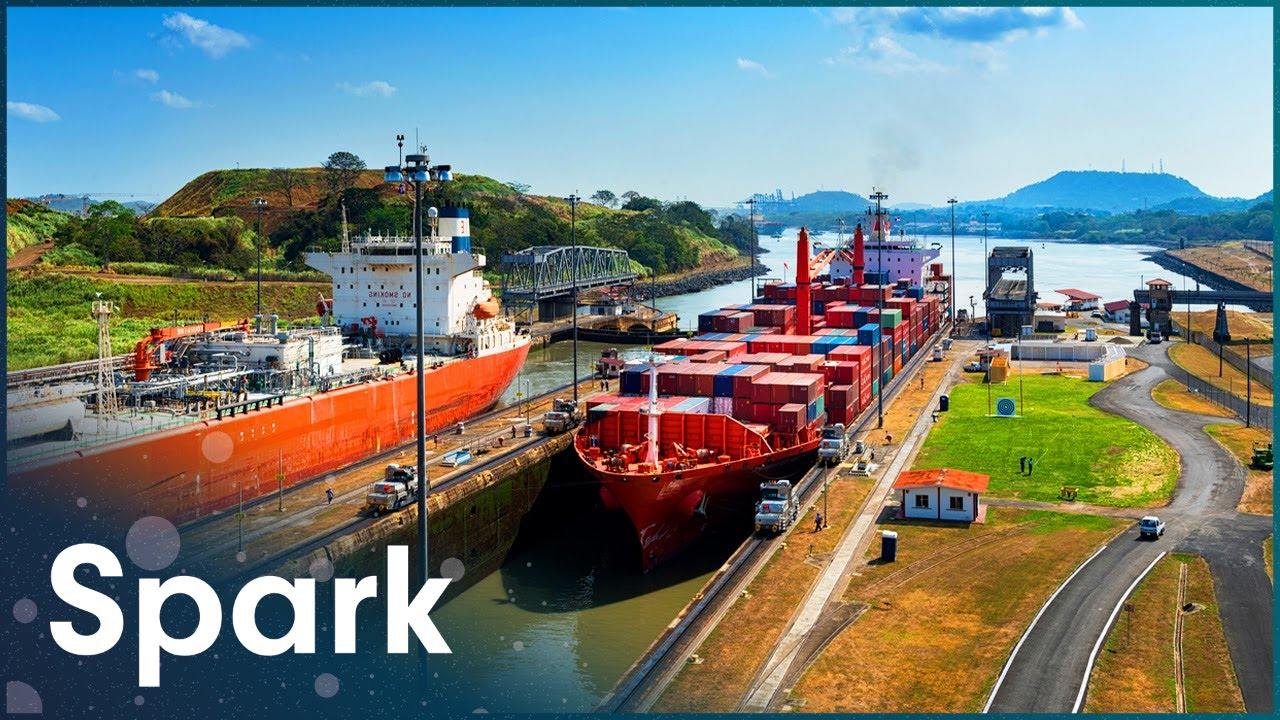 How Did They Build An 82km Canal Through Panama? | Super Structures | Spark