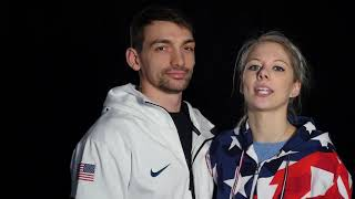 Alexa And Chris Knierim On Their Olympic Journey | Team USA In PyeongChang