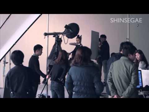 2NE1 Loves Shinsegae Behind The Scenes