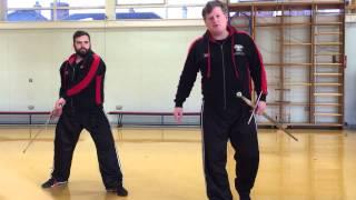 Longsword Lessons: Secondary Postures - Zornhut, Langort, Nebenhut & Wechsel
