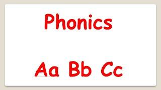 English Phonics ABC. Английский алфавит. Буквы ABC.