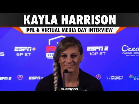 Kayla Harrison   PFL 6: 2021 Season - Pre-Fight Interview \ Press Conference