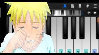 Naruto soundtrack piano - sadness and sorrow (piano cover android) | tutorial piano - perfect piano