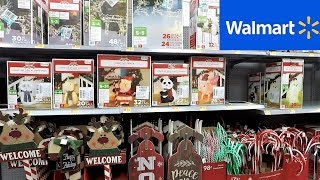 WALMART CHRISTMAS 2018 (SO FAR) - CHRISTMAS TREES DECORATIONS ORNAMENTS HOME DECOR SHOPPING