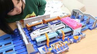 プラレール 列車メンテナンスステーション thumbnail