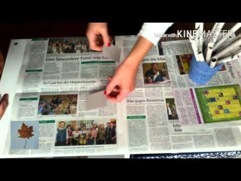 DIY aus Zeitung #1