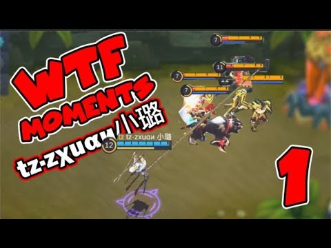 Zxuan WTF MOMENTS 1 FANNY COMPILATION | Tz·zχuαи 小璐 RANK 1 FANNY | Best Of Mobile Legends EPISEDE 1