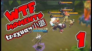 Zxuan WTF MOMENTS 1 FANNY COMPILATION  tzzu  RANK 1 FANNY  Best of Mobile Legends EPISEDE 1