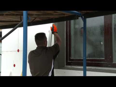 Утепление фасада коттеджа пенополистиролом  Пошаговая инструкция 57 мин , 1280х720