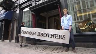 İflas eden Lehman'ın tabelası satışta