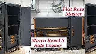Matco Revel X Side Locker