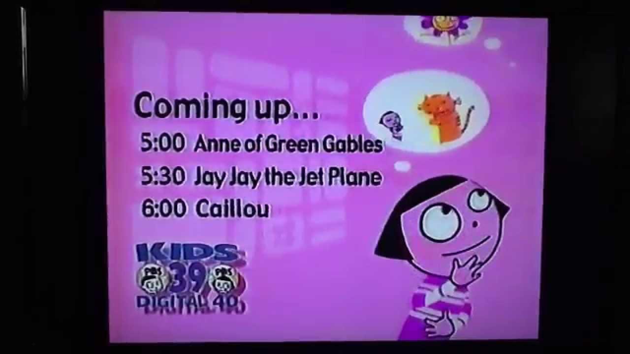 Pbs Kids Schedule Bumper 2004 Wfwa Tv Youtube