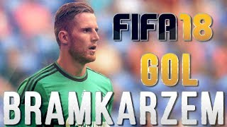 GOL BRAMKARZEM! FIFA 18 #7