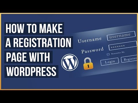 How To Create A Custom Registration Form With WordPress