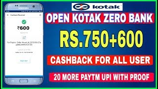 Video Oepn Kotak 811 Zero Balance Account | Rs.750+600 Cashback Per Month | Full Guide With Proof download MP3, 3GP, MP4, WEBM, AVI, FLV Agustus 2018