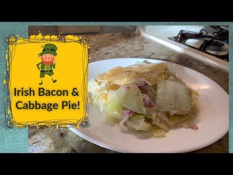 Irish Back Bacon & Cabbage Pie