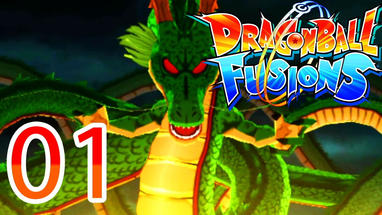 DRAGON BALL FUSIONS 3DS FR - SHENRON LUI ICI !!! UN RPG DE FOU