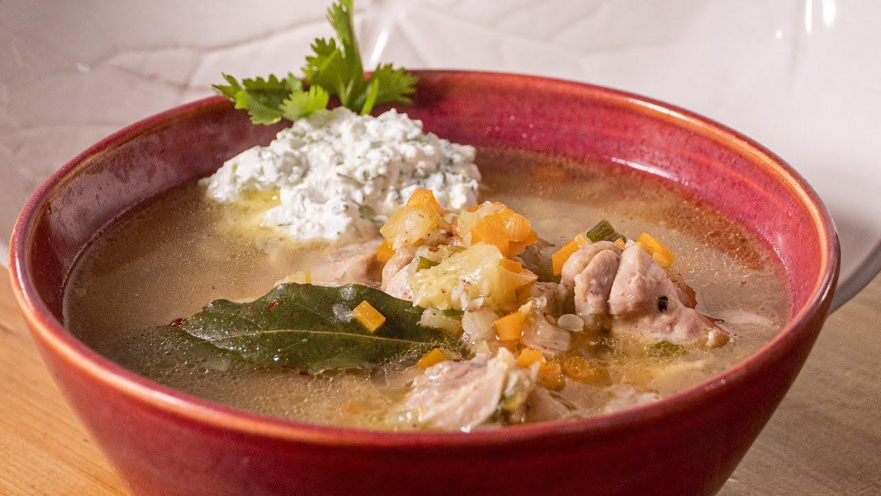 Куриный суп без секретов. А это белое совсем не то, что вы подумали. Каждый может сделать так