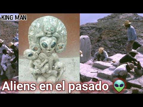 Extraterrestres siempre han estado aqui, estas figuras y dibujos de miles de años son la prueba ?