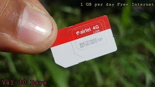 airtel FREE 30GB 4G DATA in August 2018 #FreeInternet