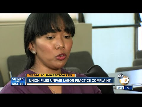TEAM 10: union files unfair labor practice complaint