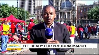 EFF ready for Pretoria march