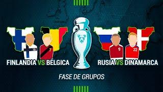 MISTER UNDERDOG 74: FINLANDIA 0-2 BÉLGICA & RUSIA 1-4 DINAMARCA | EUROCOPA 2021