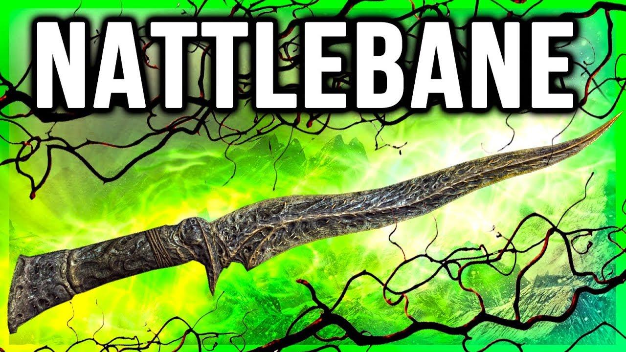 Skyrim Weapons - NETTLEBANE Location (Unique Rare Dagger Lore)
